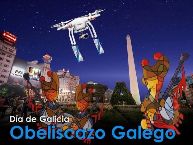 """Llega la segunda edición del """"Obeliscazo gallego"""""""