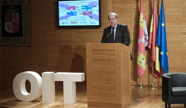 Herrera aboga por la conciliación, el consenso y la formación para el empleo del futuro