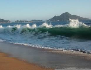 Funvisis alerta de fuerte oleaje en costas venezolanas