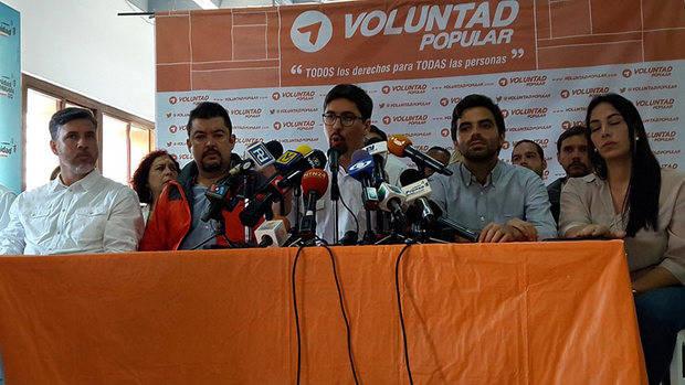 Voluntad Popular cuestiona proclamación de Justo Noguera en Bolívar