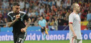 Sin Messi, Argentina se comió un baile ante España