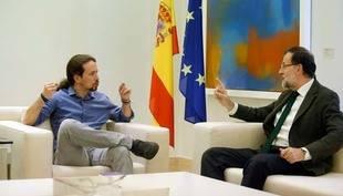 Podemos se niega a apoyar nuevo gobierno de Rajoy