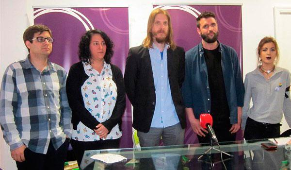 Pablo Fernández, reelegido secretario regional de Podemos con el 71,95 por ciento de los votos