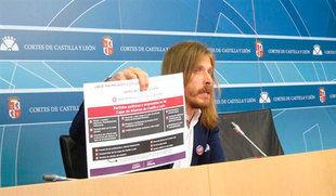 Podemos califica de 'vergüenza' el 'pacto' entre PP y PSOE para la hora de comparecencia de Herrera