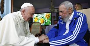 Papa Francisco se reunió en La Habana con los hermanos Castro por separado