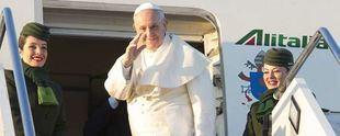 El Papa sobrevoló el país y envió su bendición para todos los argentinos