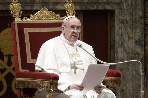"""El Papa Francisco sostuvo que """"cerrar las fronteras sólo favorece al tráfico de personas"""""""