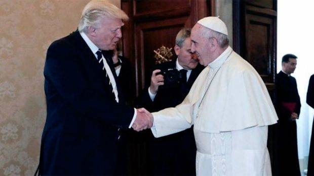 El Papa Francisco y Trump resaltaron la