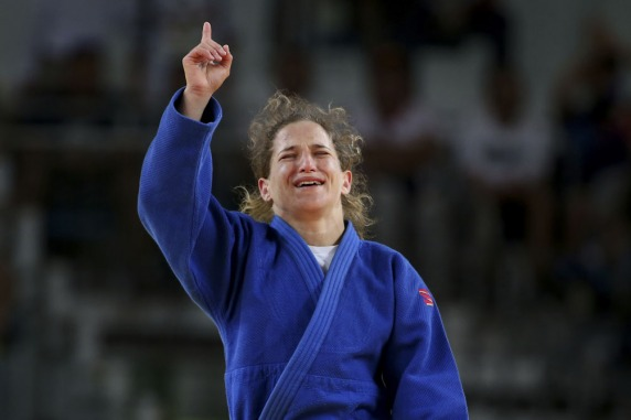 Pareto logró una medalla dorada que festejó todo el país