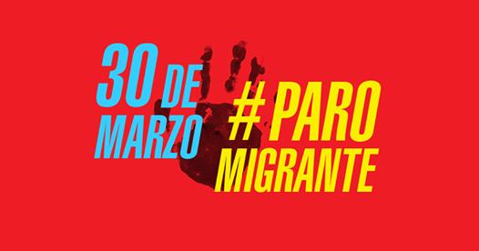 Anuncian un paro general de migrantes para este jueves