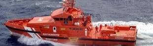 Interceptan en el Estrecho una barca a la deriva con cinco inmigrantes