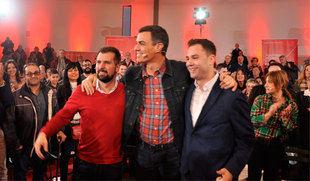Pedro Sánchez asegura que el sistema público de pensiones se sostiene aumentando los salarios