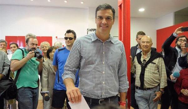 Sánchez gana en Castilla y León con el 53,2% de los votos, 16 puntos por encima de Díaz