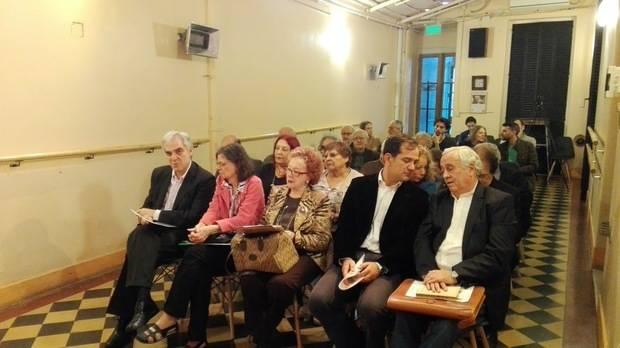 Sandomingo participó del homenaje a los españoles desaparecidos en Argentina