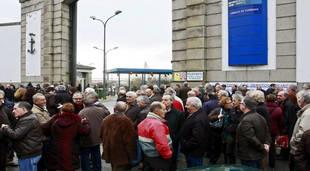 Venezolanos se concentran en España para reclamar el pago de sus pensiones