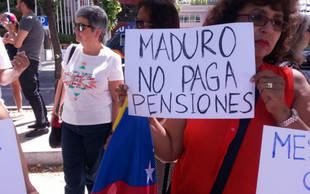 Venezuela no paga a sus 3.800 jubilados en Espa�a desde el 2015