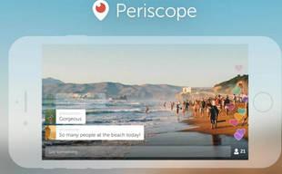 Videos de Periscope se podrán ver directamente en Twitter