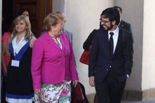 Pizarro conversó con la presidenta Bachelet sobre la situación de Venezuela