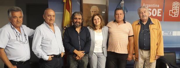 Pilar Cancela se refirió en Buenos Aires a las dos cuestiones que tienen en vilo a la emigración: el voto rogado y la Ley de Nacionalidad