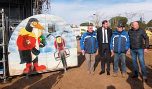 Pingüinos arranca en Valladolid con la expectativa de 20.000 moteros y de convertir la sede en estable
