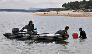 Localizado el cadáver del joven ahogado en las aguas de Playa Pita en Soria