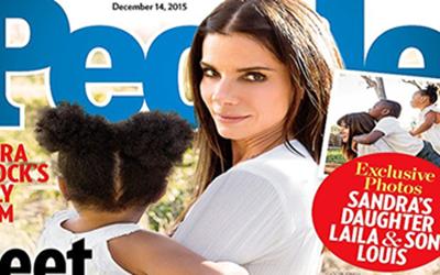 Sandra Bullock adopta a una niña llamada Laila