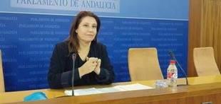 PP-A: Susana D�az calla mientras Pedro S�nchez