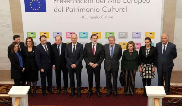 Rajoy valora el patrimonio cultural como un vínculo indisoluble entre españoles