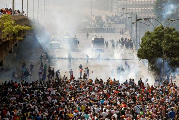 Oposición convoca para el sábado otra jornada de manifestaciones en el país