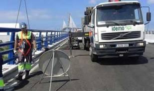 El segundo puente sobre la Bahía de Cádiz se abrirá al tráfico el mismo día de su inauguración, este jueves