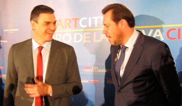 �scar Puente compara al PSOE con un barco