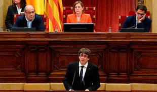 Herrera recuerda que la ruptura de España no se negocia y pide a Puigdemont que se moje