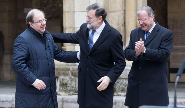 Rajoy, a Puigdemont: