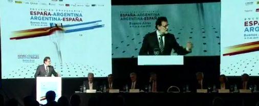 Rajoy y Macri alentaron a las empresas españolas a invertir en Argentina