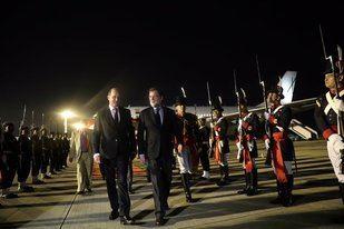 Rajoy ya se encuentra en Buenos Aires donde tendrá una intensa agenda