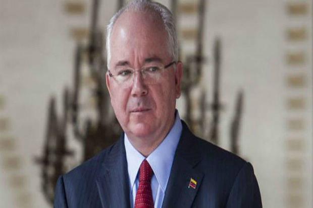 Rafael Ramírez renunció a su cargo como embajador en la ONU