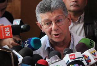 Ramos Allup se niega a dialogar con el presidente Maduro