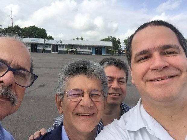Ramos Allup va rumbo a Washington por la activación de la Carta Democrática