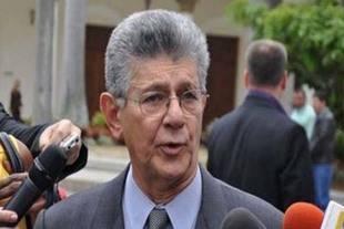 Ramos Allup repudió actuación de cuerpos de seguridad en protestas