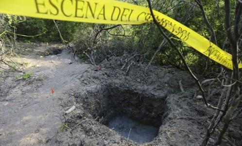 Hallan en México 31.000 fragmentos de huesos humanos