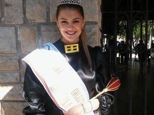 Sabrina Pastorino, una Reina orgullosa de representar a la colectividad