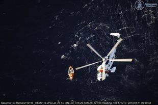 Ascienden a ocho las pateras rescatadas en las aguas del Estrecho