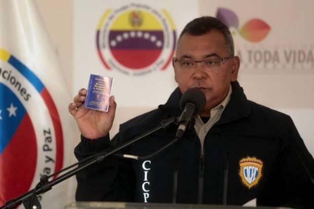 Reverol: Presunto asesino de joven en Táchira es militante de Vente Venezuela