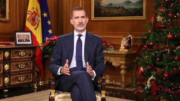 PSOE y Podemos valoran positivamente el discurso del rey Felipe VI