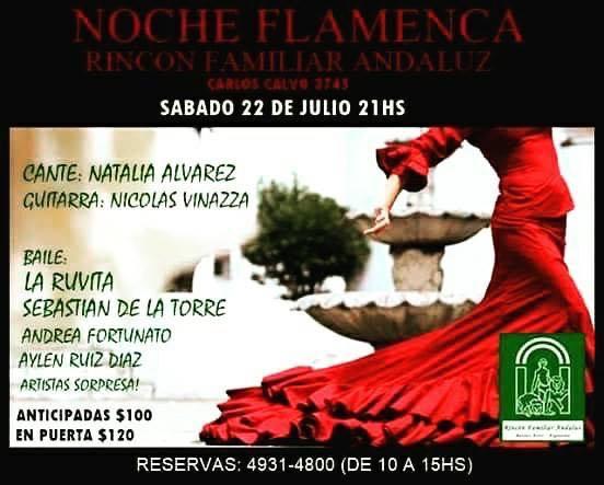 Nueva noche flamenca en el Rincón Andaluz