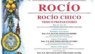 Todo listo en El Rocío para recibir a unas 200.000 personas para la celebración del 'Rocío Chico'