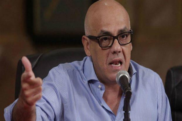 Jorge Rodríguez sostuvo que las regionales serán el complemento para la consolidación de la paz