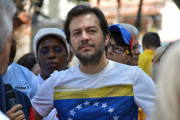 Ramón Muchacho respalda a Gustavo Duque como alcalde encargado