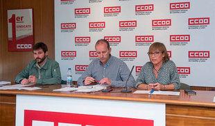 CCOO ve 'imperiosa' la necesidad de sacar oferta de empleo en la Junta tras perder desde 2009 más de 3.200 trabajadores