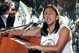 Morales rechazó la loca idea de plebiscitar la libertad de Milagro Sala